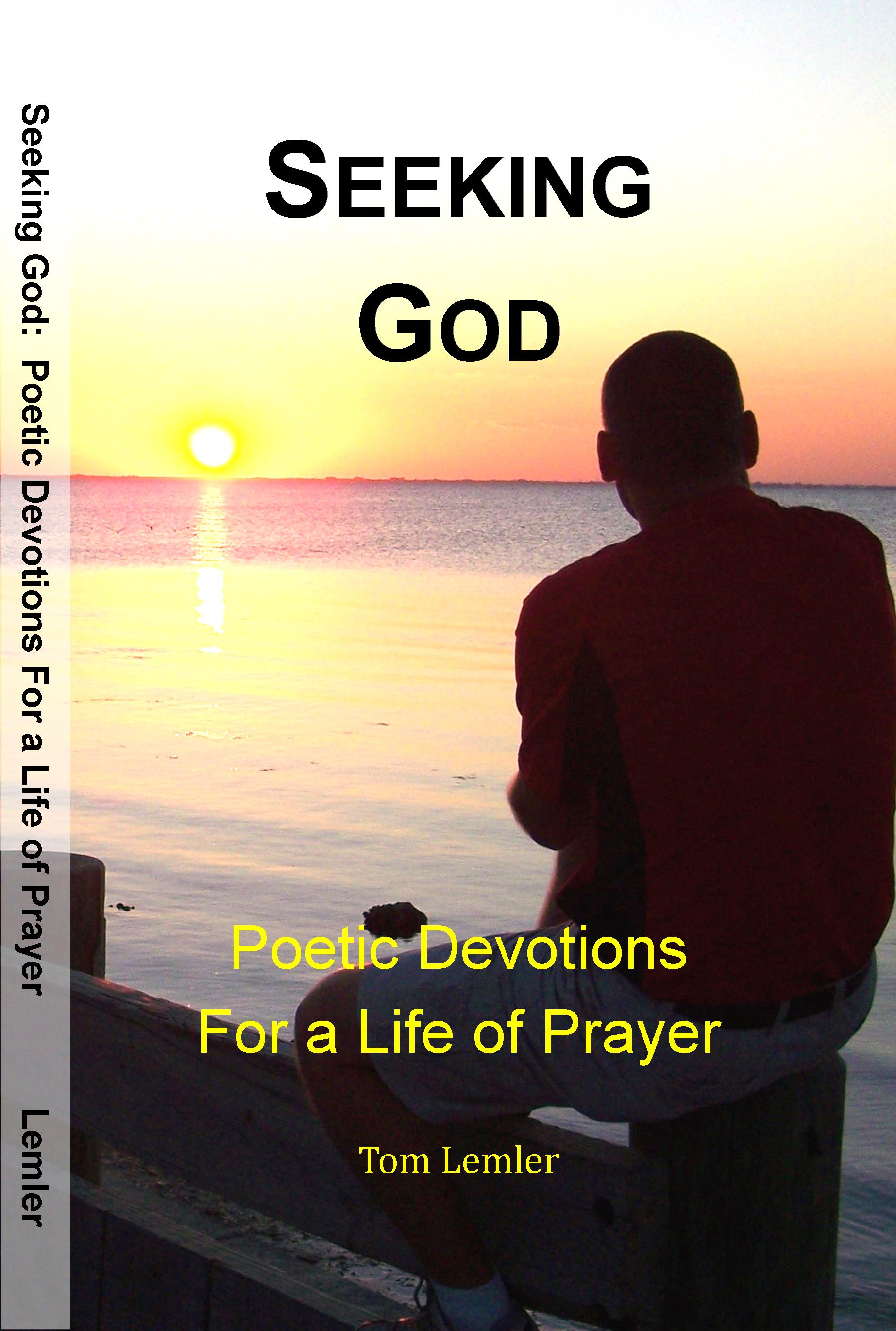"Purchase ""Seeking God""."