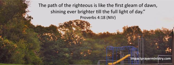 Proverbs 4 18
