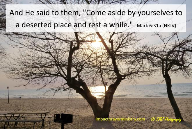 Come aside and rest!